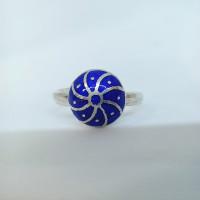 Blue Toe Ring