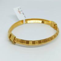 Varuna Plain Gold Kada