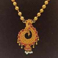 Urmila Traditional Bead Necklace