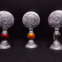 Table Clock Silver