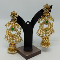 Peacock Style Long Earrings For Her