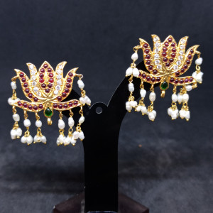 Lotus Earrings For Her