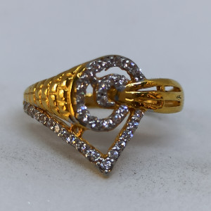 Corn Cz Ring For Her