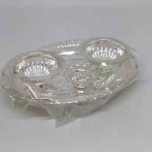 Silver Pooja Dish