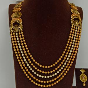 Lakshmi Bead Haram Set