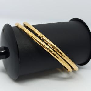 Bamboo Gold Bangles
