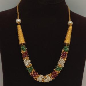 Colours Moti Necklace