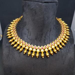 Semi Plain Necklace