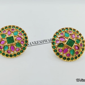 925silver Gold Plated Earrings