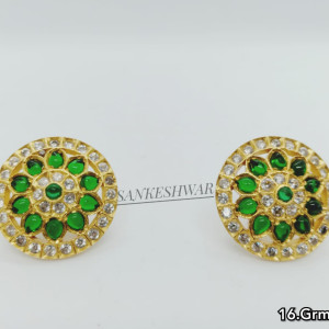 925 Silver Gold-plated Earrings