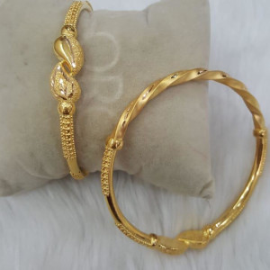 Gold Fancy Bangles