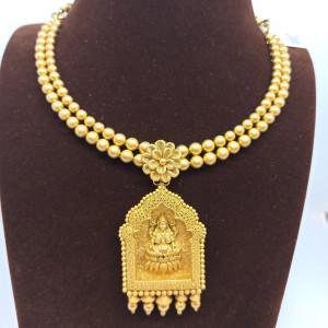Lakshmi Temple Necklace