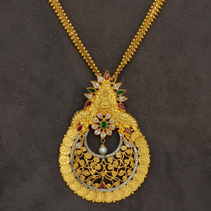 Chaand Lakshmi Necklace