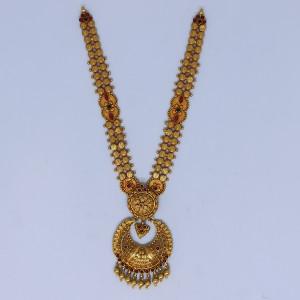 Chaand Shape Necklace