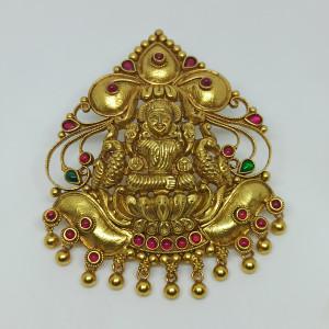 Lakshmi Temple Pendant 2