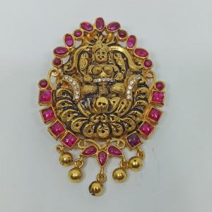 Parvathi Cz Antique Pendant