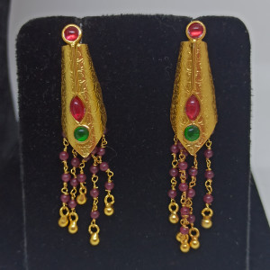Gayatri Kemp Stone Drop Earrings