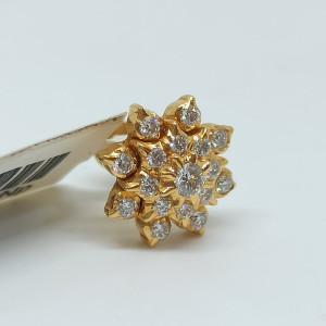 Floral Design Diamond Nosepin