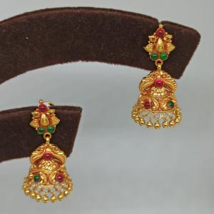 Devika Antique Jhumka