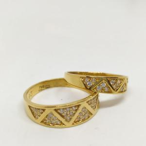 Cz Couple Ring