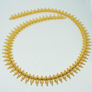 Ethnic Plain Gold Haram