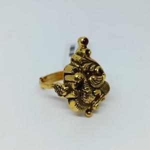 Peacock Antique Nakash Ring