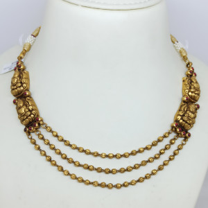 Lakshmi Small Gundu Necklace