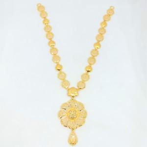 Floral Jali Necklace
