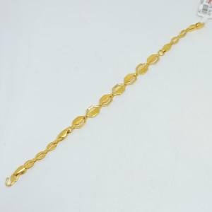 Tanishka Plain Gold Bracelet