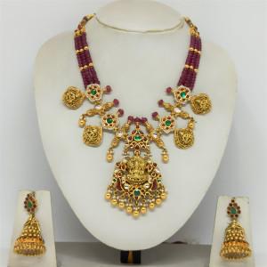 Antique Lakshmi Mala Necklace