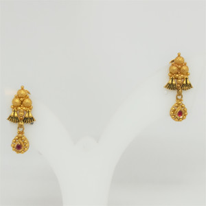 Tridant Antique Earrings