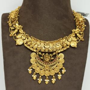Vasundhra Antique Necklace