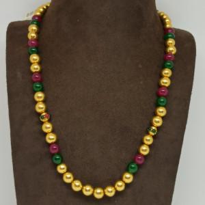 Colour Gundu Necklace