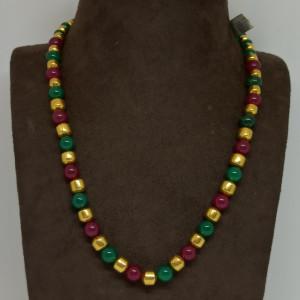 Colourful Gundu Necklace