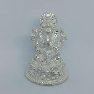 Ganesha Silver Idol