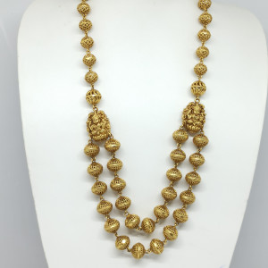 Antique Gundu Necklace