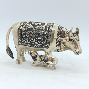 Oxidized Cow And Cub