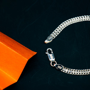 925 Silver The Silver Purity Bracelet