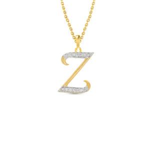 Z Word Real Diamond Pendant
