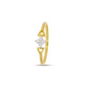Ring With 4 Pcs Diamond