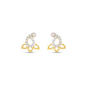 Real Diamond Stud Earring 6