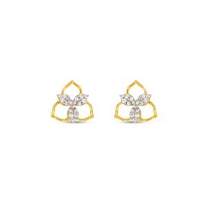 Real Diamond Stud Earring 10