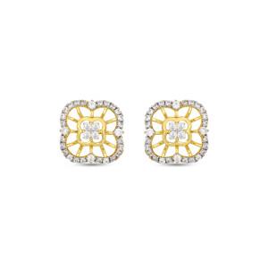 Real Diamond Stud Earring 11