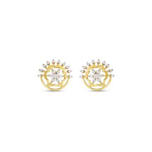 Real Diamond Stud Earring 13
