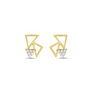 Real Diamond Stud Earring 15