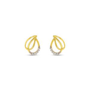 Real Diamond Stud Earring 18