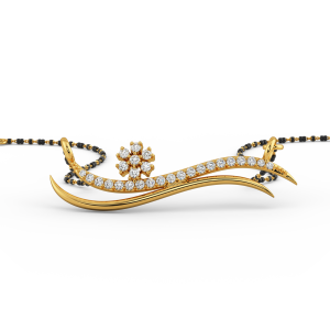 Gold Designer Mangalsutra 1