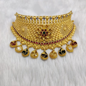 Antique Choker Nacklase