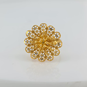 Designer Gold Ring 07