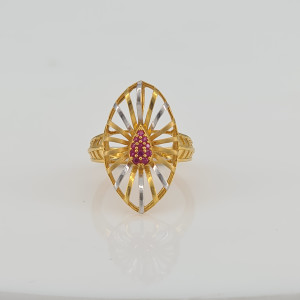 Designer Gold Ring 01